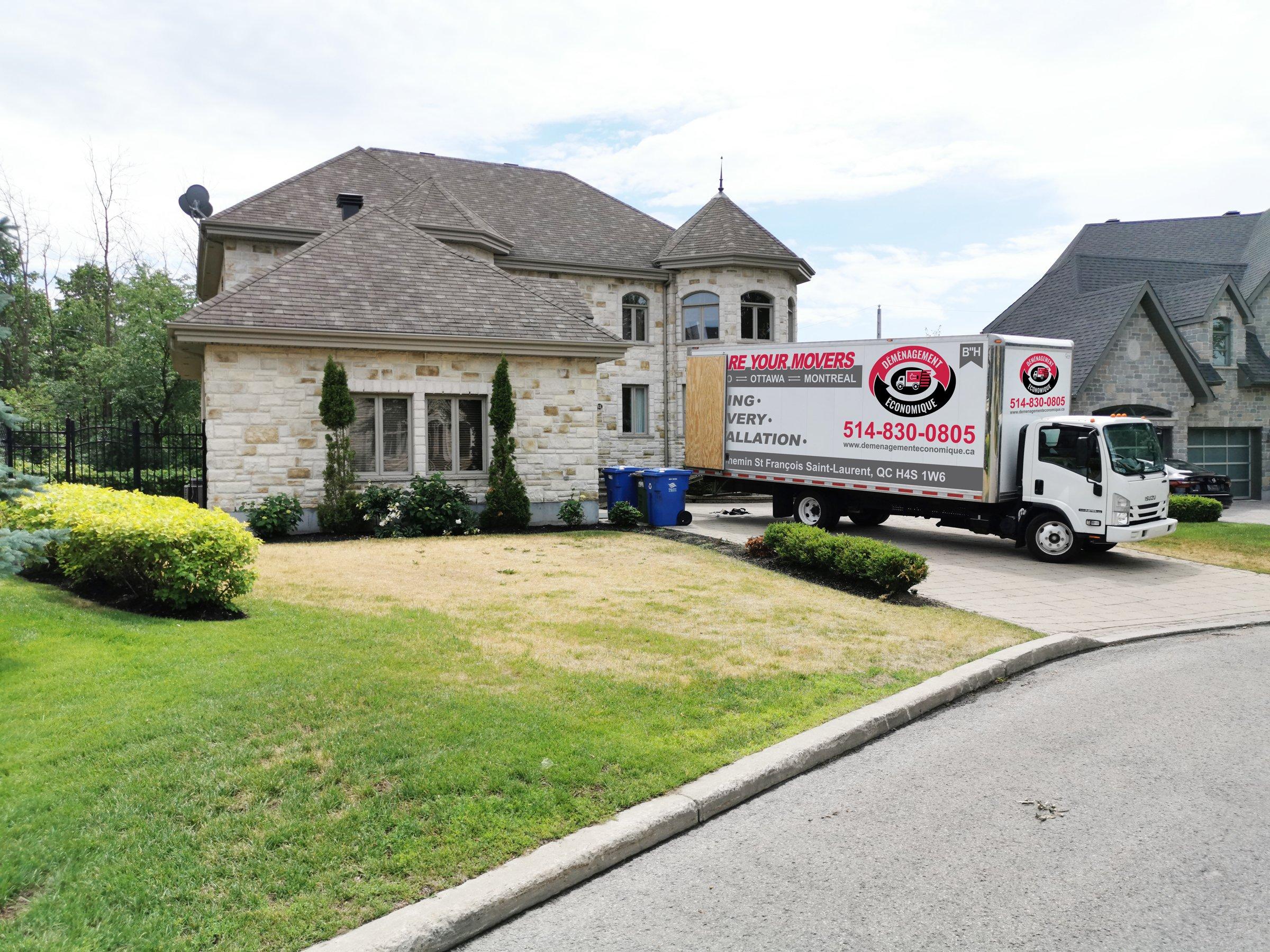 Déménagement Économique - déménageurs professionnels à Montréal